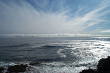 Sky off Mendocino Headlands
