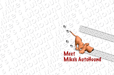 Postcard for Mike's Auto Hound (Front)
