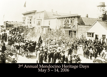 Postcard for Mendocino Heritage Days