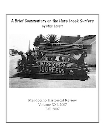 Front Cover of 'Hare Creek Surfers' for Kelley House Review