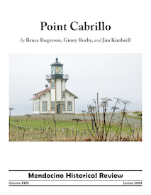 Front Cover of 'Point Cabrillo' for Kelley House Review