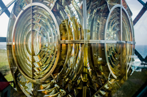 Third-Order Fresnel Lens, Point Cabrillo Lighthouse, Mendocino