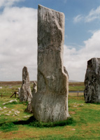 The Monolith from Callanish, Outer Hebrides, Scotland