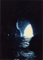 Inside a Sea Cave, Kauai