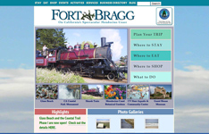 FortBragg.com Official Tourism Site, Fort Bragg CA